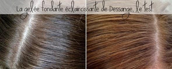 la gele fondante claircissante de dessange le test - Gele Claircissante Garnier Sur Cheveux Colors