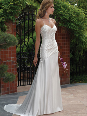 Food of life your dream wedding gown for Simple classy wedding dresses