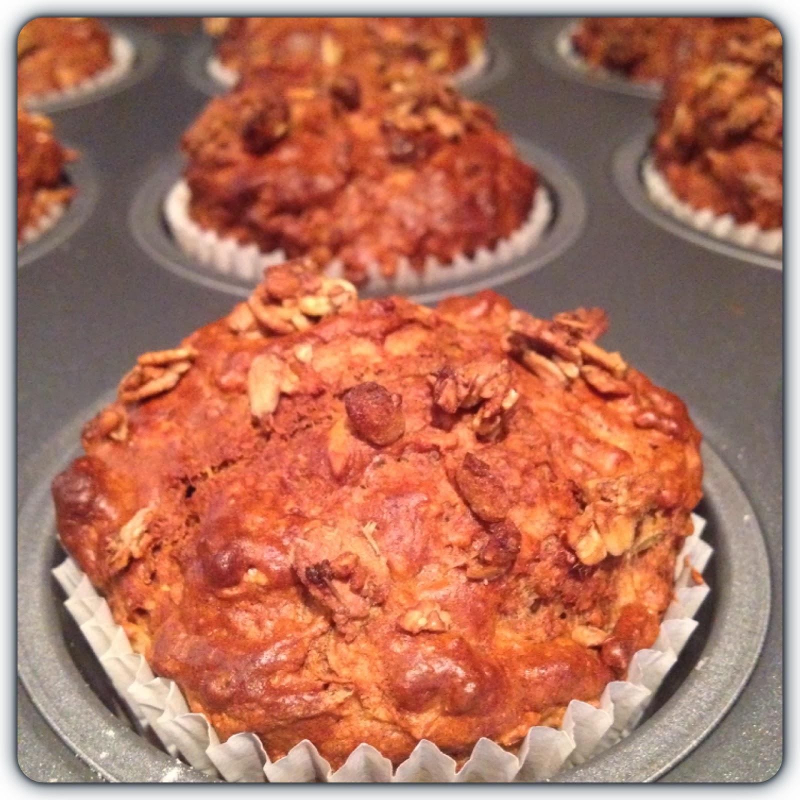 special k granola muffins