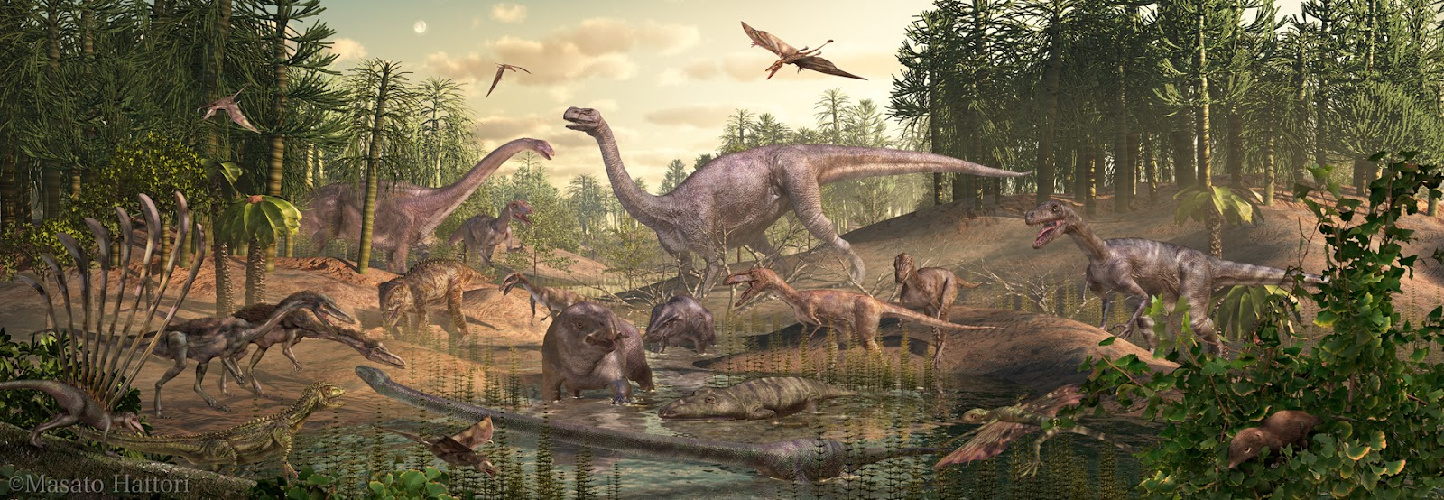 the triassic jurassic