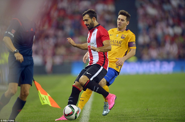 Striker andalan FCB, Lionel Messi