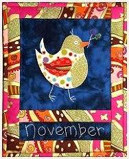 Het quiltje van de maand