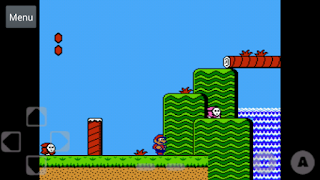 Screenshots of the Free NES Emulator for Android tablet, phone.