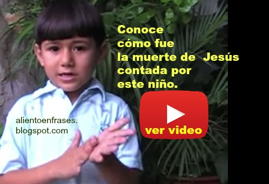 crucifixión, muerte Jesús, video reflexión