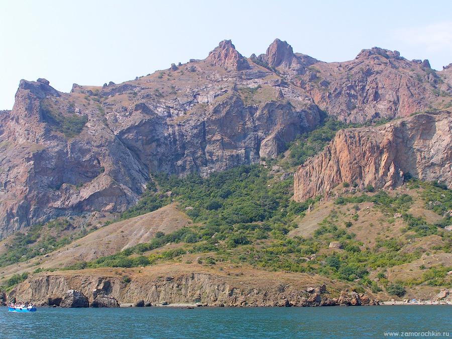 Кара-Даг. Хребет Кок-Кая | Kara-Dag. Kok-Kaya ridge.