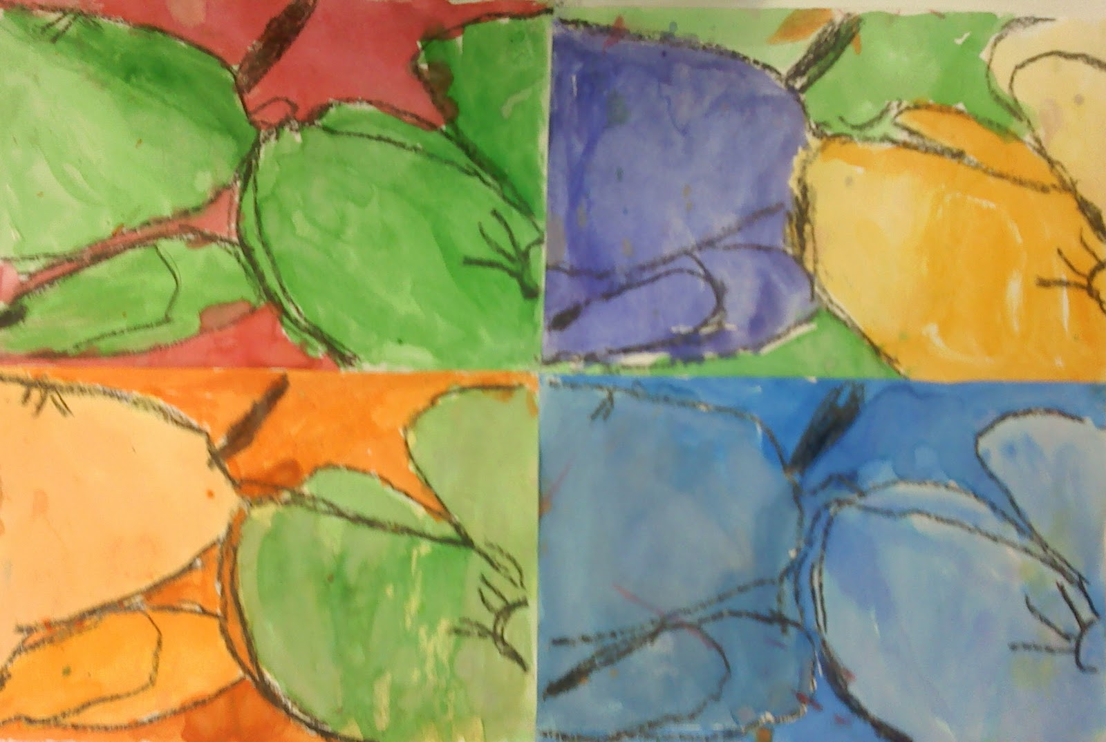 2011 Third Grade Color Harmony Examples