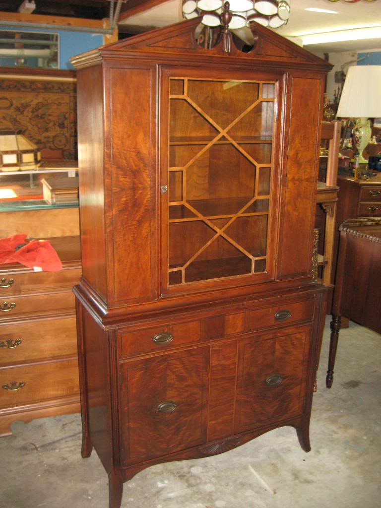 Antique Walnut Furniture - Antique Furniture And Canopy Bed: Antique Walnut Furniture