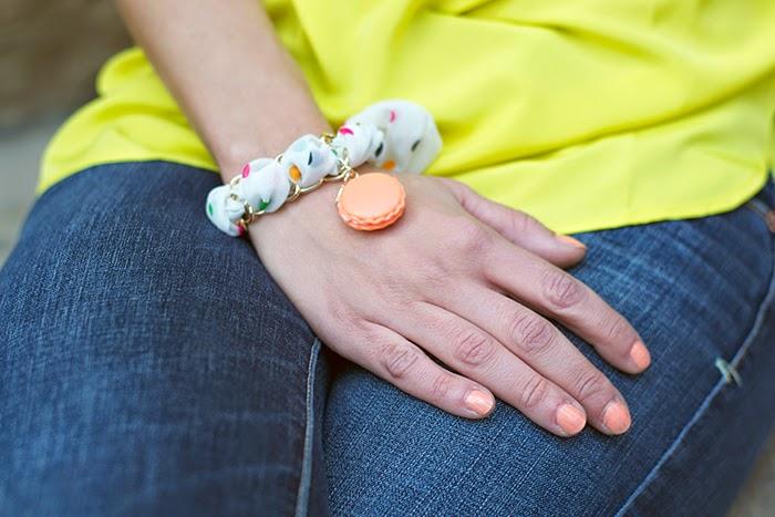 bracciale macaron