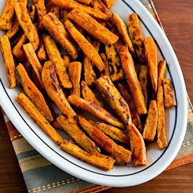 Ten Favorite Deliciously Healthy Sweet Potato Recipes [found on KalynsKitchen.com]