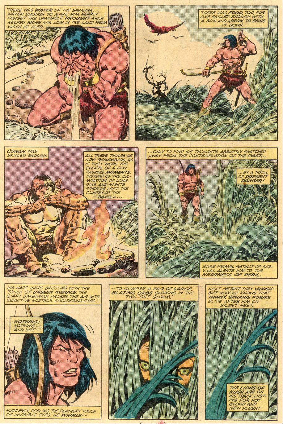 Conan the Barbarian (1970) Issue #105 #117 - English 5