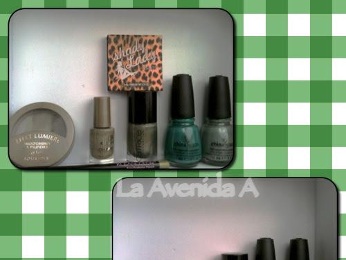 Verde Esperanza!... maquillaje en tonos verdes