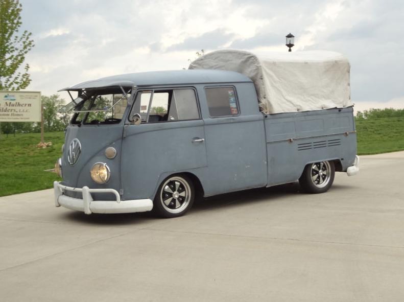 1966 volkswagen bus double cab groosh 39 s garage for Garage volkswagen flers