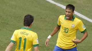 La fantastique volée de Neymar  face au Japon VIDEO