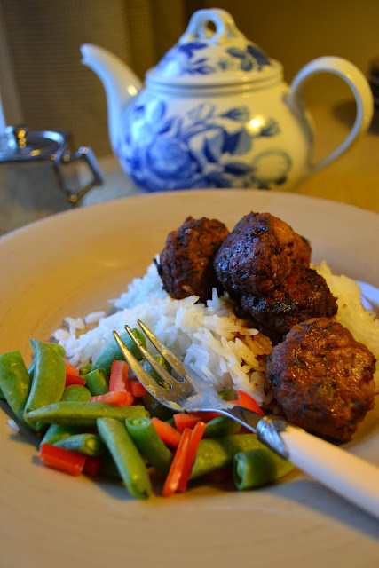 more than burnt toast: Game Changing Scallion Meatballs ...