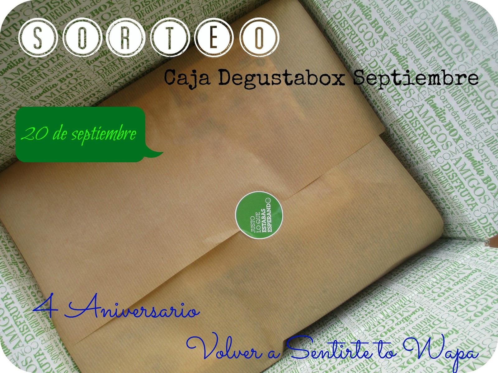 Sorteo Degustabox - Volver a Sentirte to Wapa
