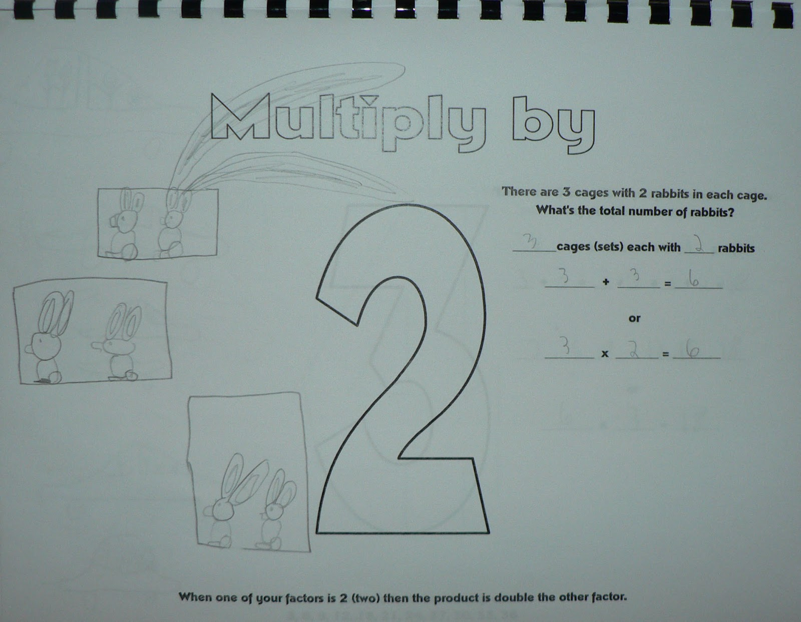 Schooling At Home Happenings: Printable Multiplication Book