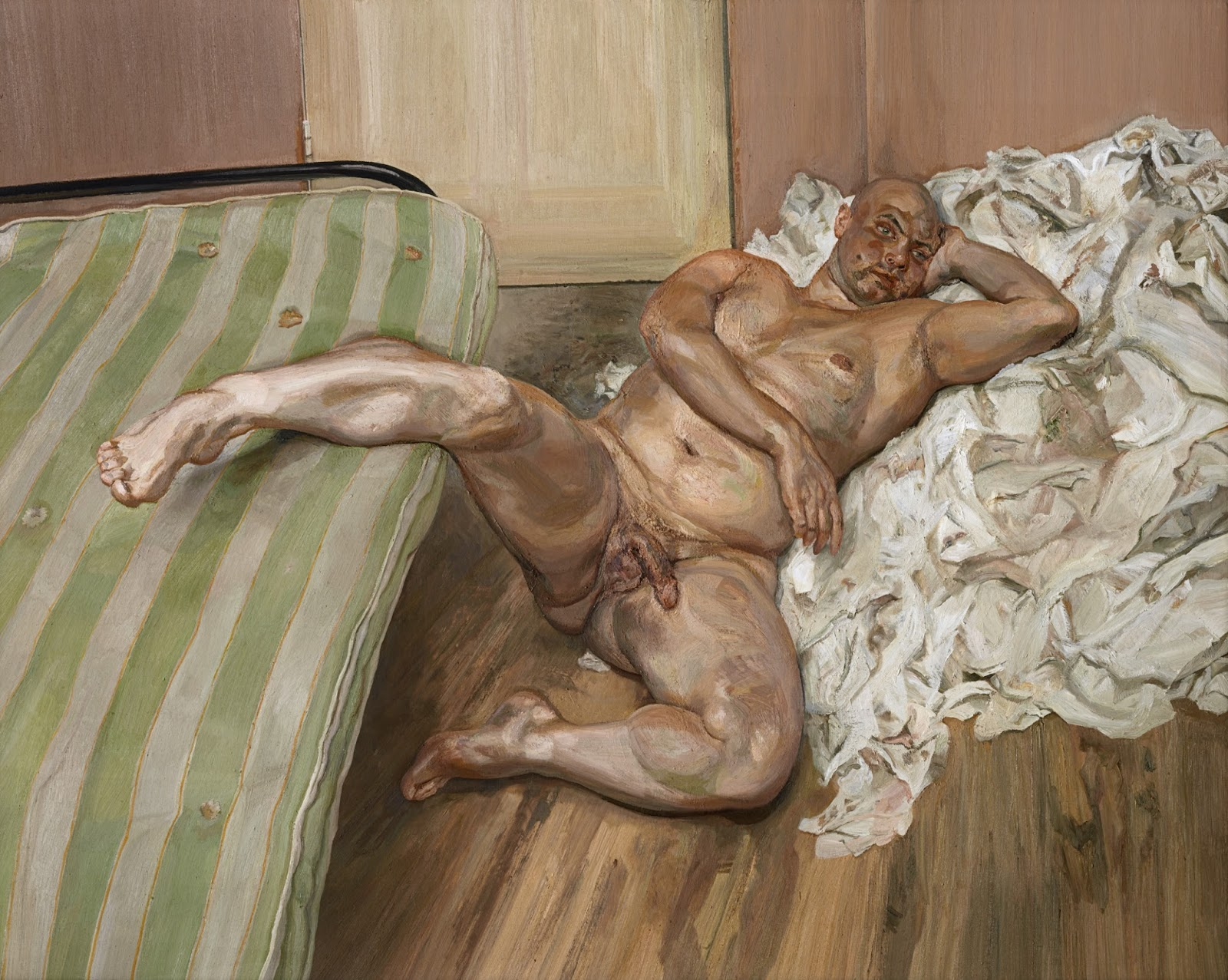 Have missed Lucian freud naked portrait has analogues?