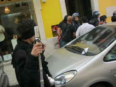 Portugal – Repressão: ANÓNIMOS DENUNCIAM ALEGADOS AGENTES PROVOCADORES