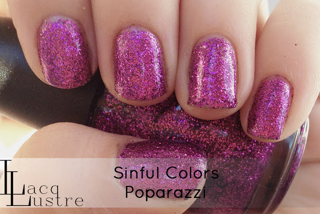 Sinful Colors Poparazzi swatch