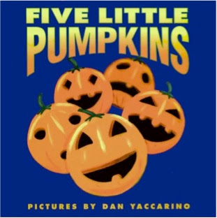 bookcover of Five Little Pumpkins by Dan Yaccarino