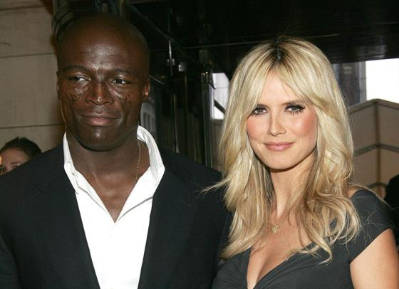 heidi klum seal wedding pictures. Seal and Heidi Klum have