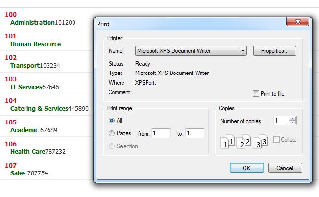 browser print dialog