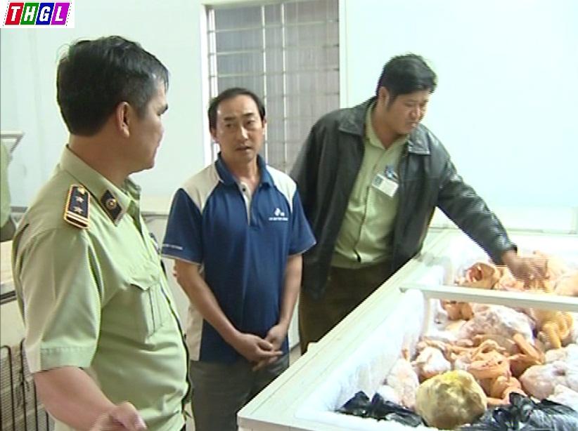Gia Lai: Phát hiện hơn 2,1 tấn thịt tươi sống không rõ nguồn gốc