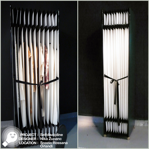 (wardrobe - armadio) SELF-DISCIPLINE - NIKA ZUPANC - SPAZIO ROSSANA ORLANDI