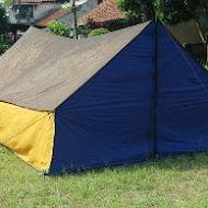 Tenda Pramuka Murah Parasit Waterproof (Tenda Saja)
