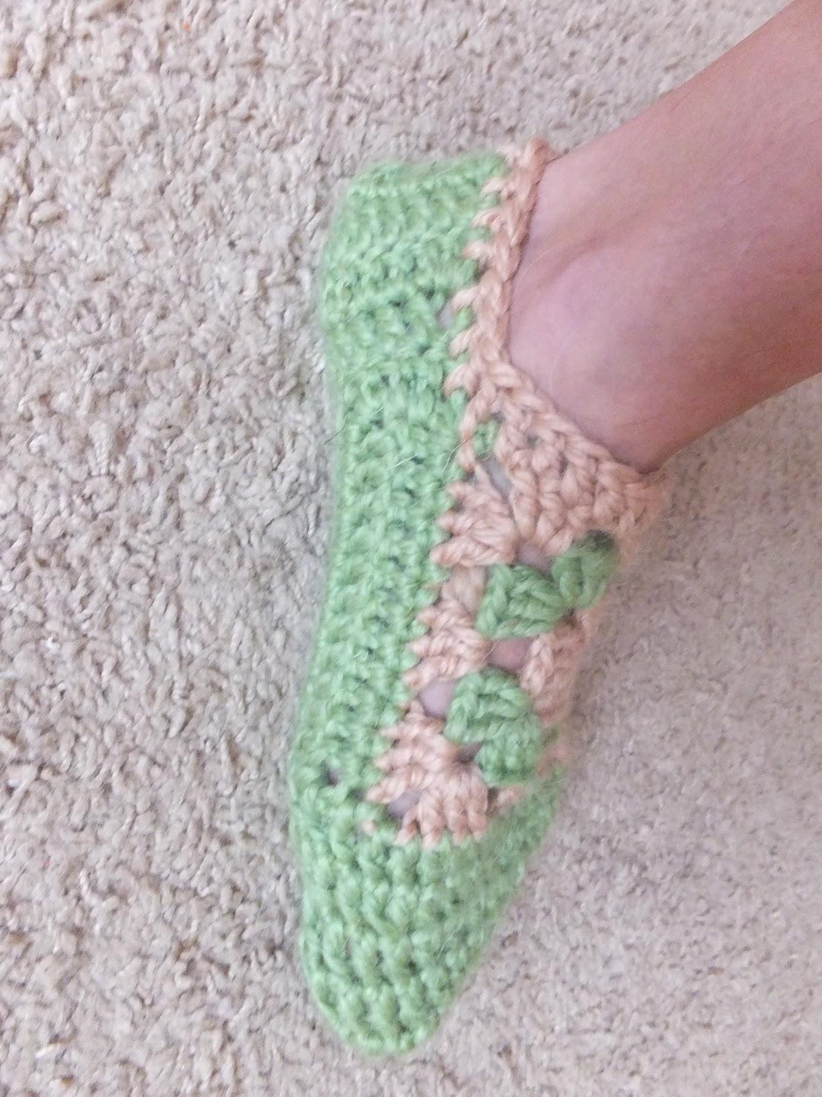Вязание на спицах тапочки чуни
