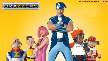 lazy town, brazzers