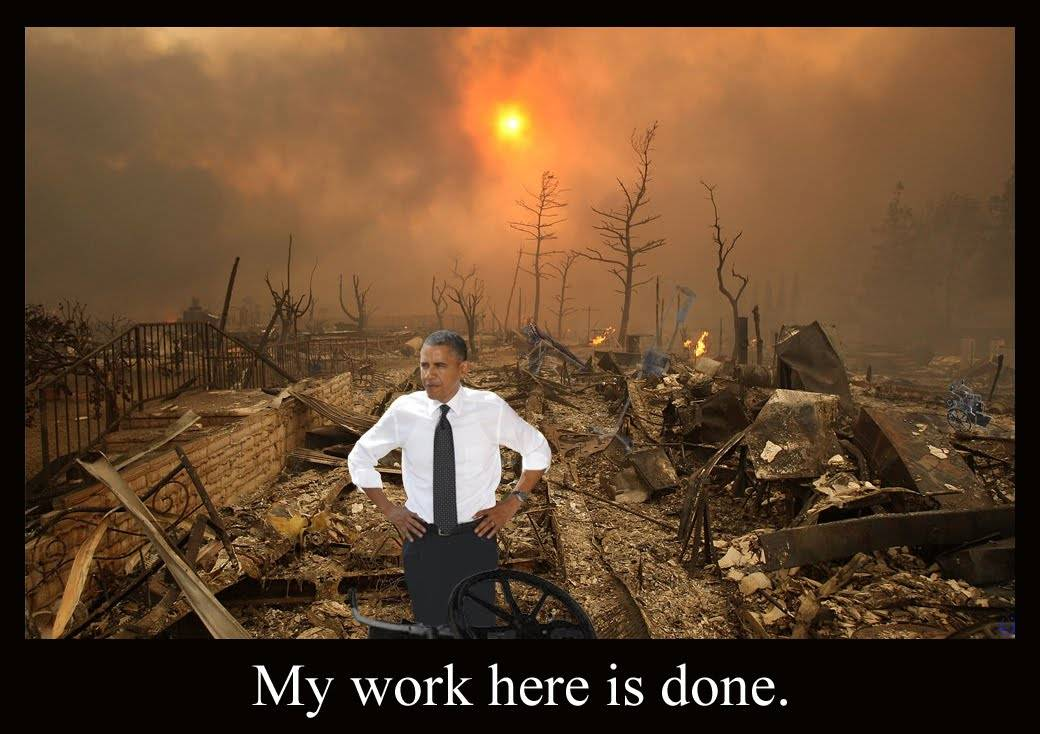 Obamas job is done