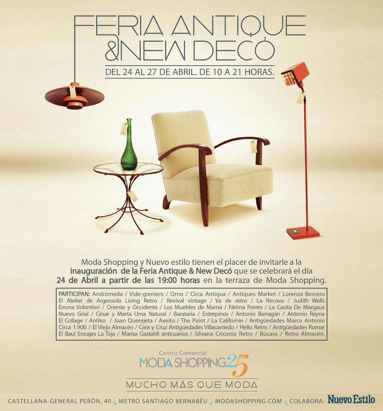 Feria del Mueble Antique & New Deco