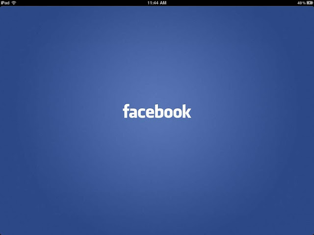 Aplicativo do Facebook para o iPad