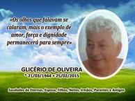 GLICÉRIO DE OLIVEIRA