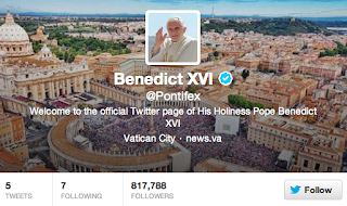 @Pontifex - Pope Benedict XVI Twitter