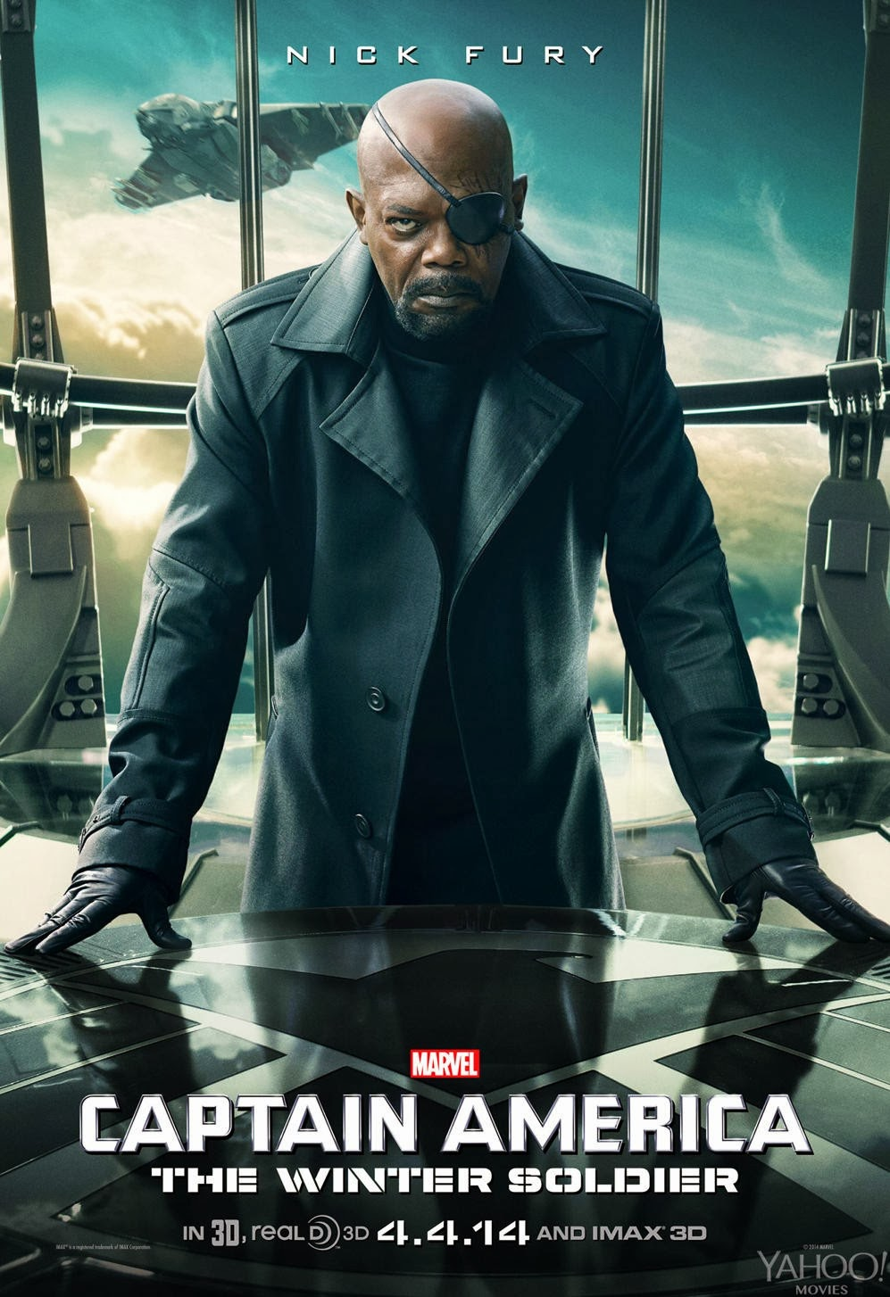 Captain America: The Winter Soldier Teaser Character Movie Poster Set - Samuel L. Jackson as Nick Fury