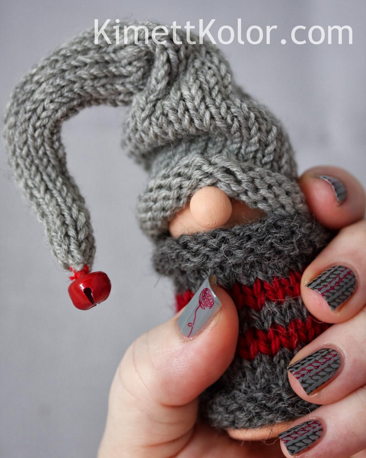 Gnome Knitting Pattern : Knitted Gnome Sweater Kimett Kolor