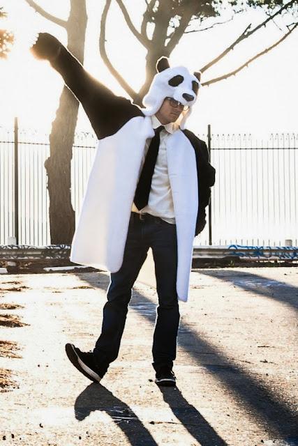 Пиджак-панда