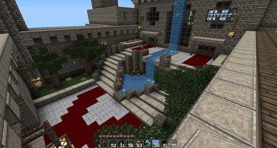 ville médiévale minecraft