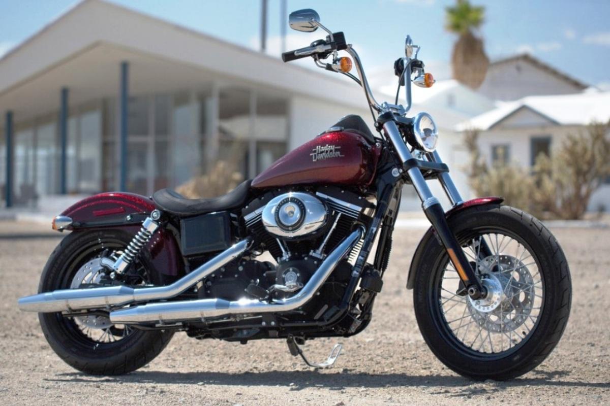 Harley-Davidson Dyna Street Bob 2013