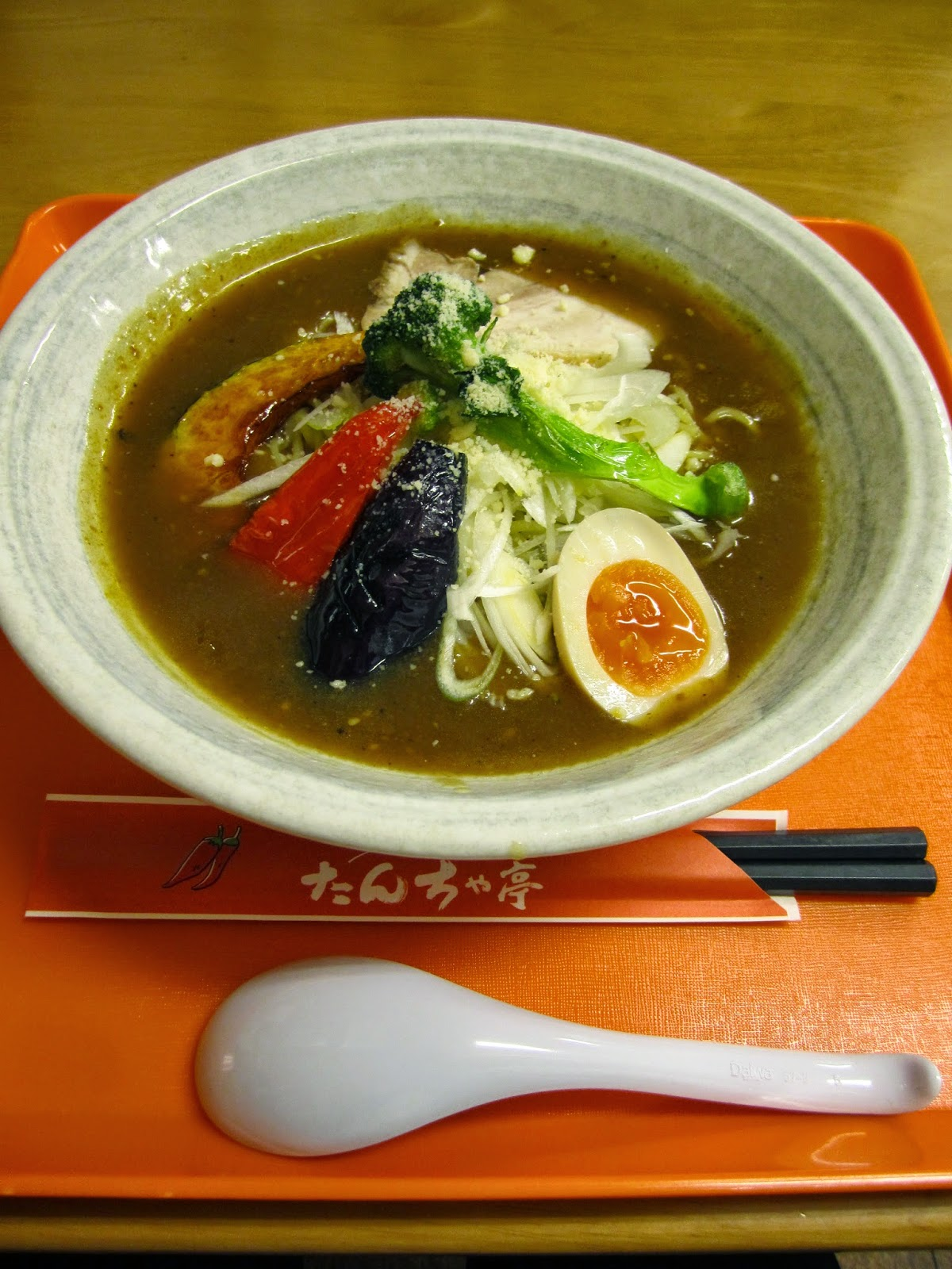Curry Noodles Tanchatei Towada カレーヌードル たんちゃ亭 十和田市