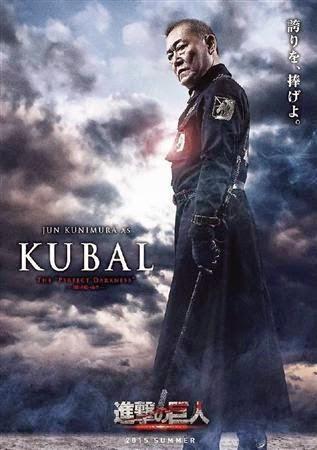 Jun Kunimura sebagai Kubal