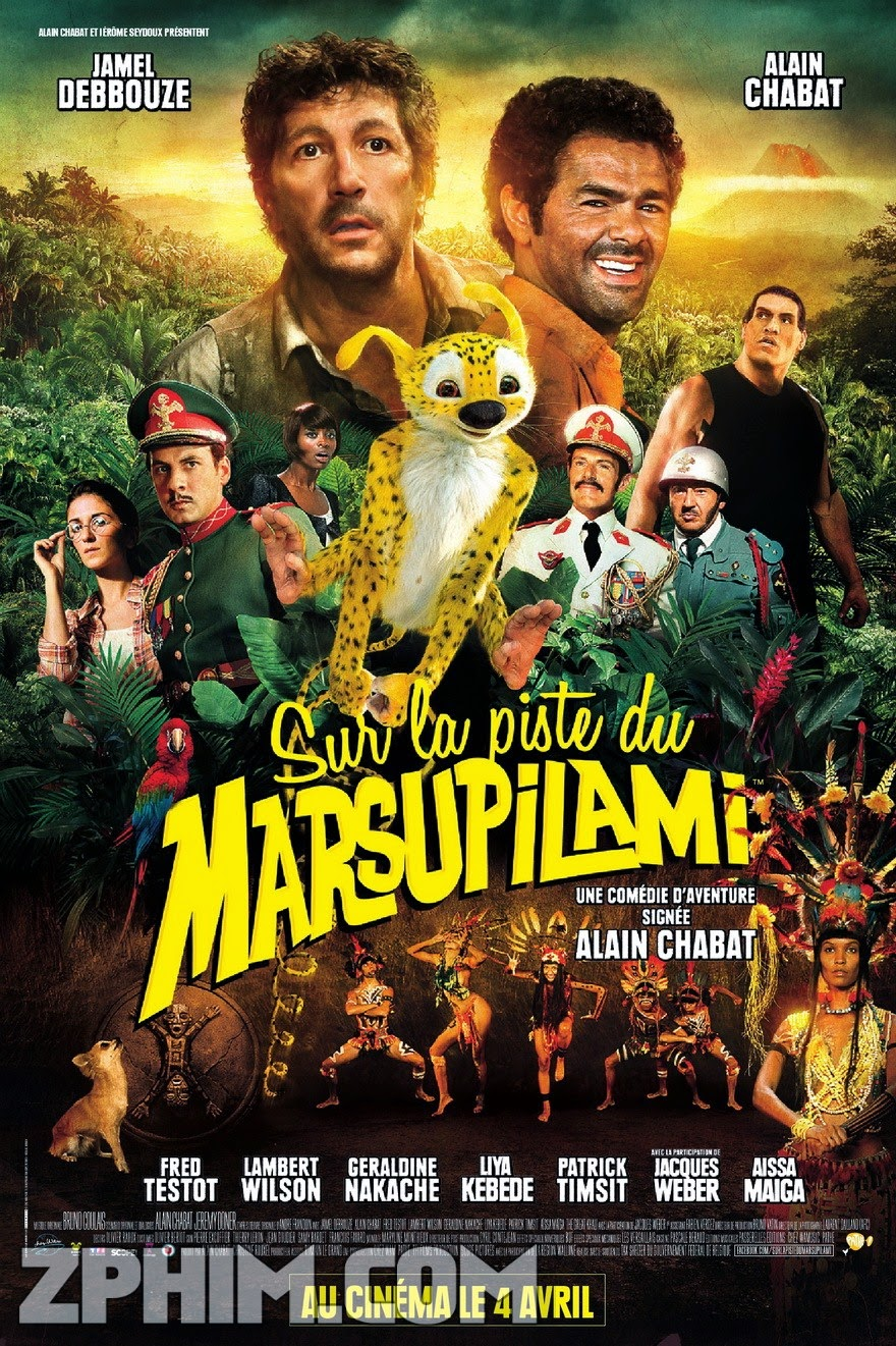 Theo Dấu Marsupilami - Sur La Piste Du Marsupilami (2012) Poster