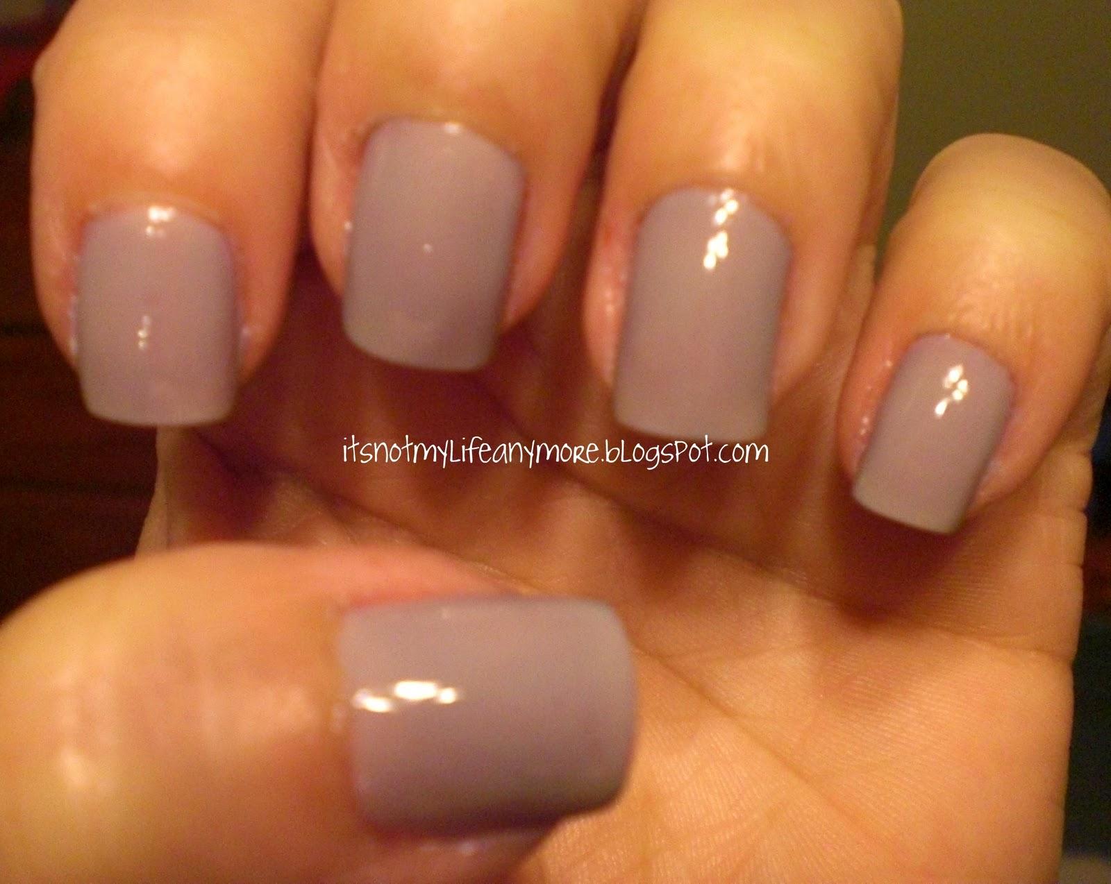 It\'s Not My Life Anymore: GAP nail polish