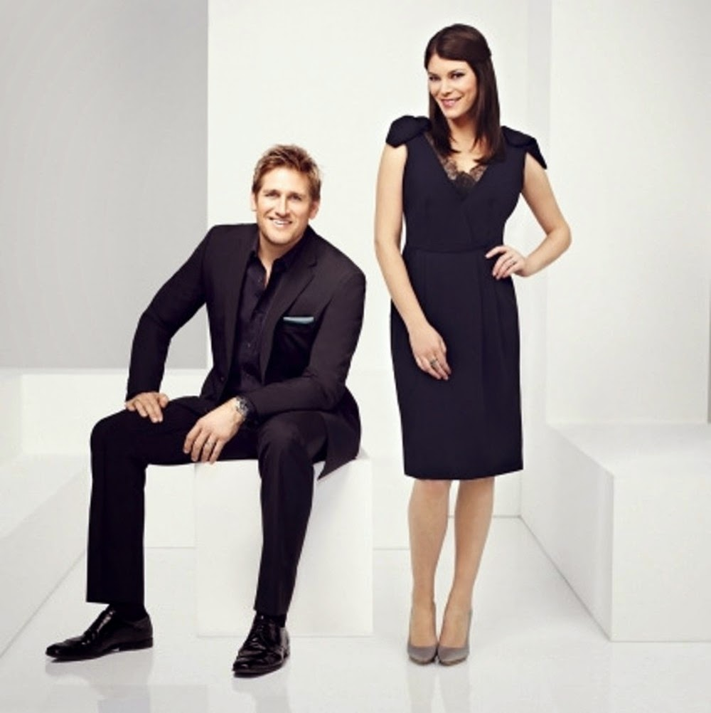 Curtis Stone and Gail Simmons of Bravo's Top Chef Duels