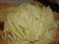 shredded potato