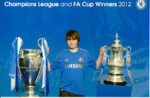 My Son Eddie With Champions League & F A Cup  2012