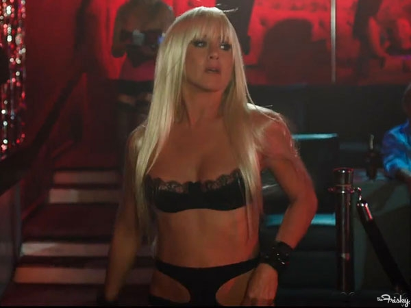 Sneak Peek actress Jennifer Aniston, the stripping star of the New