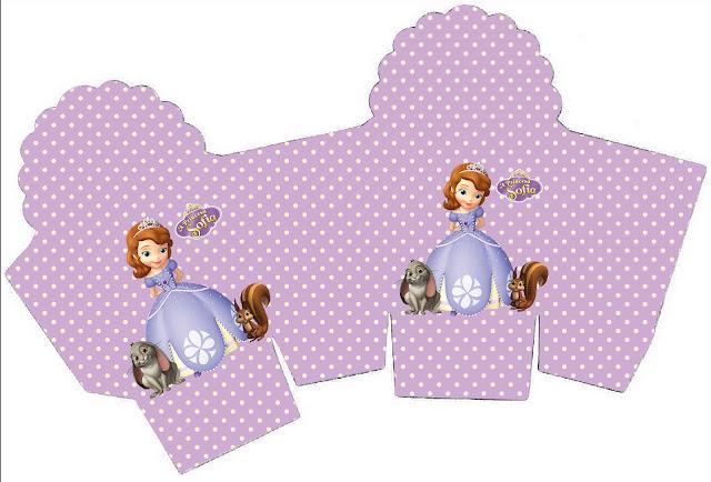 Princesa Sofía: cajas para imprimir gratis. | Ideas y material ...